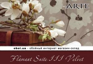 Обои Arte Flamant Suite III Velvet