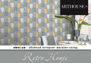 Шпалери Arthouse Retro House