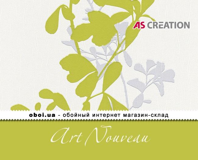 Вінілові шпалери на паперовій основі AS Creation Art Nouveau