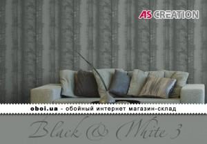 Обои AS Creation Black & White 3