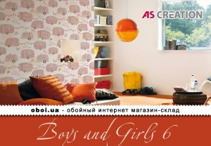 Інтер'єри AS Creation Boys and Girls 6