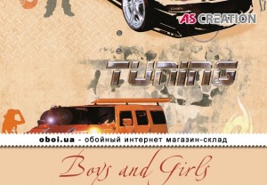Інтер'єри AS Creation Boys and Girls