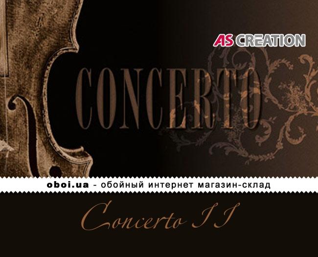 Виниловые обои на бумажной основе AS Creation Concerto II
