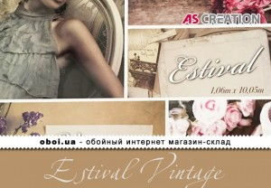 Обои AS Creation Estival Vintage
