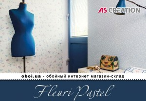 Інтер'єри AS Creation Fleuri Pastel