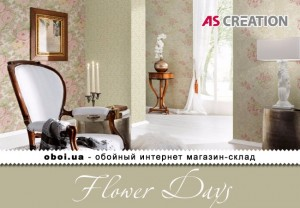 Інтер'єри AS Creation Flower Days