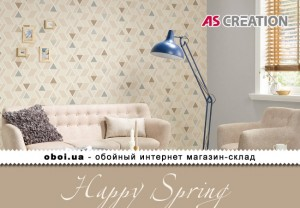Інтер'єри AS Creation Happy Spring