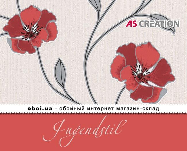 Вінілові шпалери на паперовій основі AS Creation Jugendstil