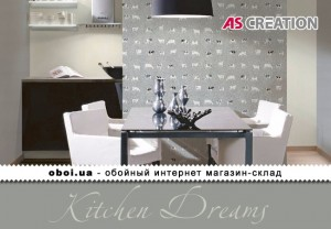 Інтер'єри AS Creation Kitchen Dreams