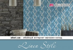 Інтер'єри AS Creation Linen Style