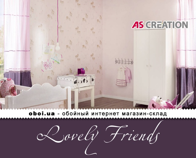 Шпалери AS Creation Lovely Friends