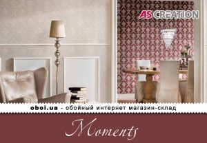 Інтер'єри AS Creation Moments