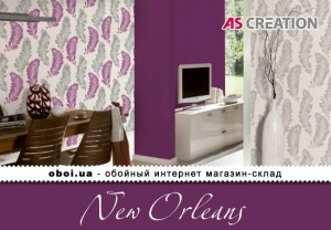 Інтер'єри AS Creation New Orleans