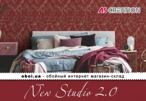 Інтер'єри AS Creation New Studio 2.0