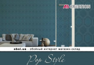 Інтер'єри AS Creation Pop Style