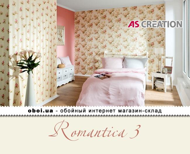 Вінілові шпалери на флізеліновій основі AS Creation Romantica 3