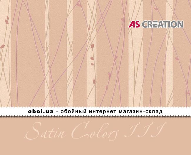 Шпалери AS Creation Satin Colors III