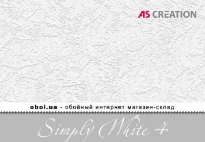 Шпалери AS Creation Simply White 4