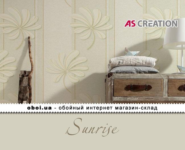 Вінілові шпалери на флізеліновій основі AS Creation Sunrise