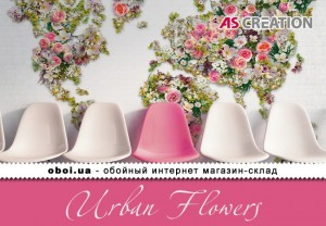 Інтер'єри AS Creation Urban Flowers
