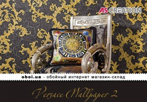 Інтер'єри AS Creation Versace Wallpaper 2