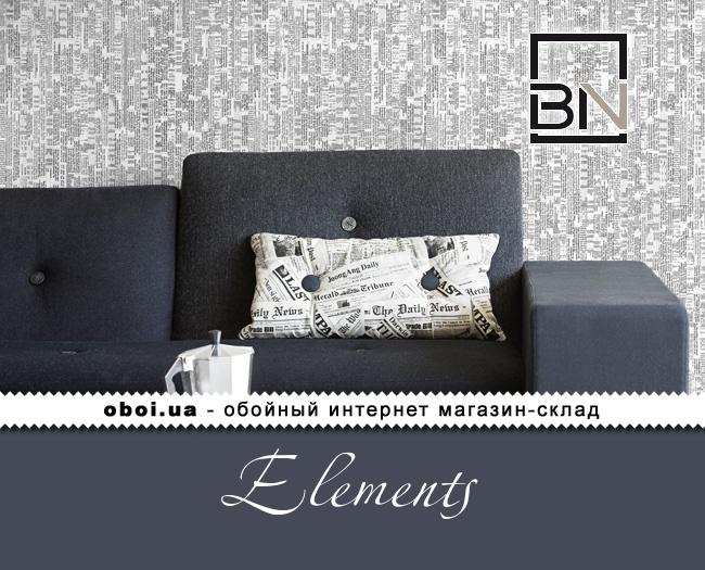 Вінілові шпалери на флізеліновій основі BN Elements