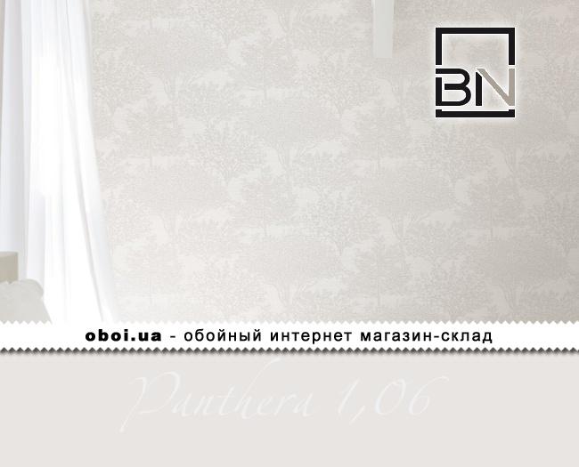 Виниловые обои на флизелиновой основе BN Panthera 1,06