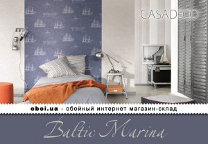 Обои Casadeco Baltic Marina