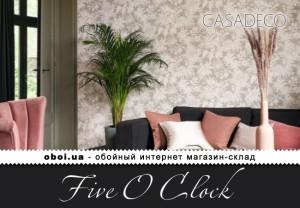 Интерьеры Casadeco Five O Clock
