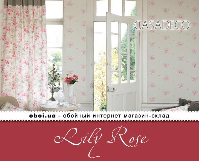 Обои Casadeco Lily Rose
