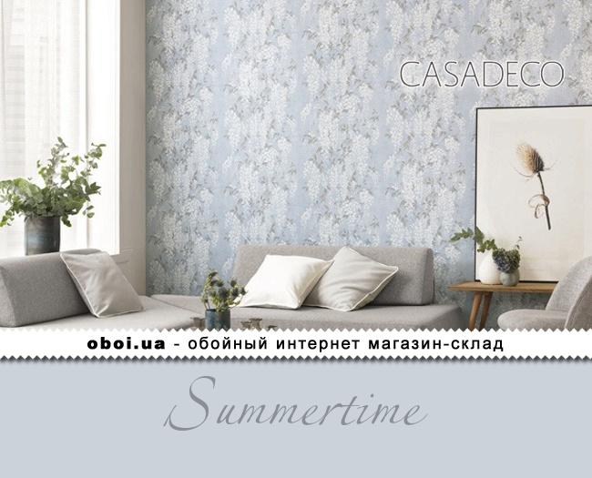 Вінілові шпалери на флізеліновій основі Casadeco Summertime