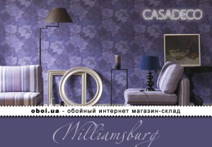 Интерьеры Casadeco Williamsburg