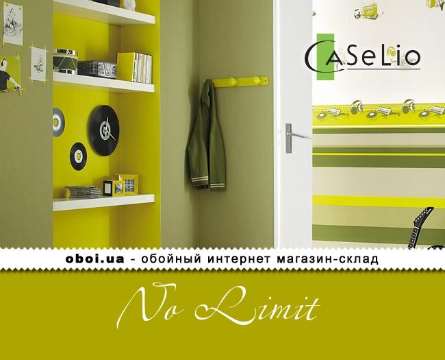Вінілові шпалери на флізеліновій основі Caselio No Limit