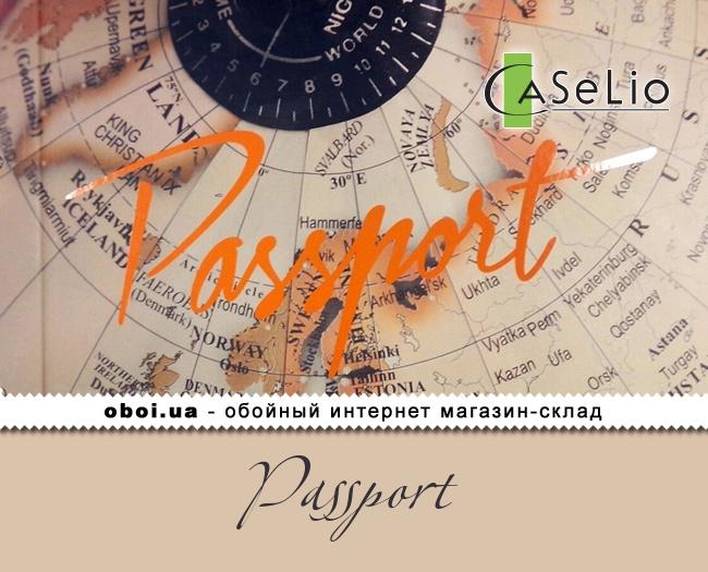 Вінілові шпалери на флізеліновій основі Caselio Passport