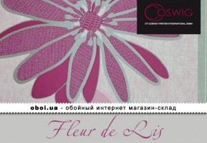 Обои Coswig Fleur de Lis