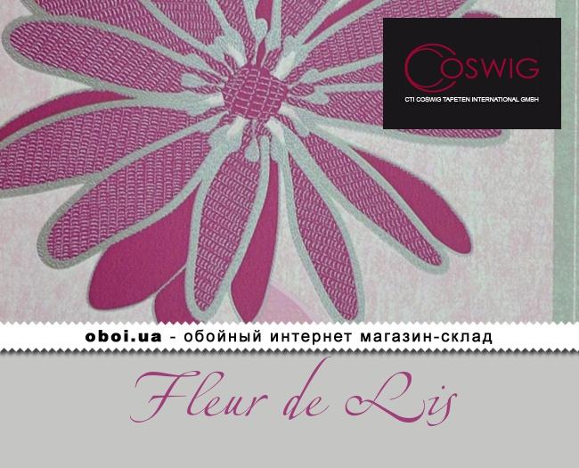 Флізелінові шпалери Coswig Fleur de Lis