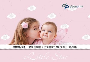 Шпалери Decoprint Little Star
