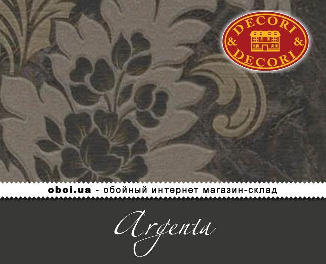 Вінілові шпалери на паперовій основі Decori&Decori Argenta