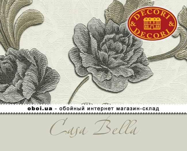 Вінілові шпалери на флізеліновій основі Decori&Decori Casa Bella