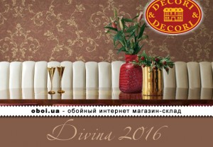 Обои Decori&Decori Divina 2016