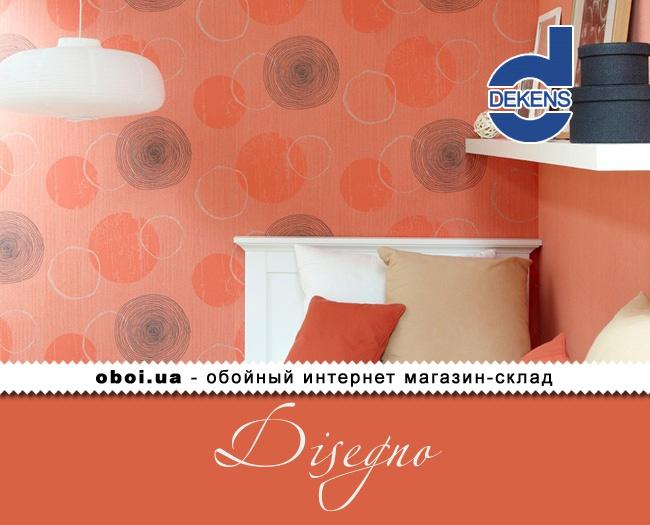 Вінілові шпалери на флізеліновій основі Dekens Disegno