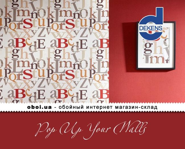 Вінілові шпалери на флізеліновій основі Dekens Pop Up Your Walls
