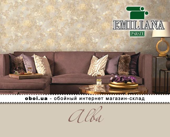 Вінілові шпалери на флізеліновій основі Emiliana Parati Alba