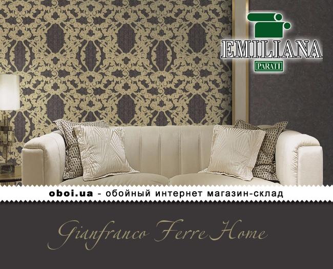 Вінілові шпалери на флізеліновій основі Emiliana Parati Gianfranco Ferre Home