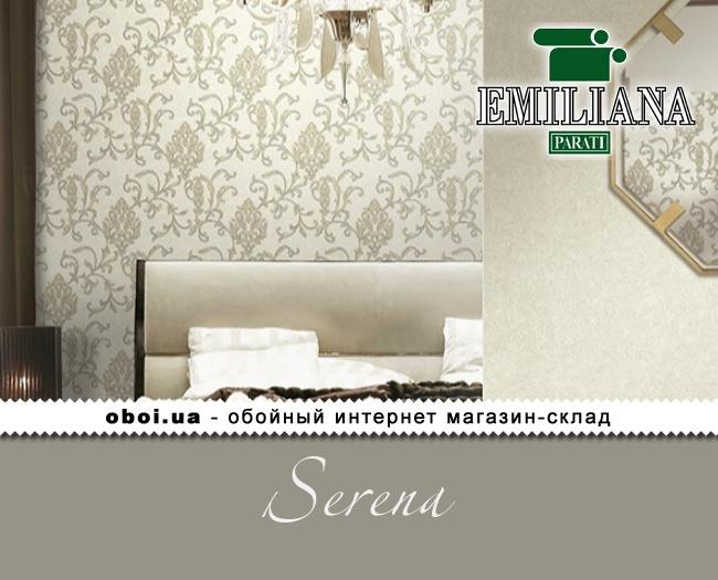 Виниловые обои на флизелиновой основе Emiliana Parati Serena