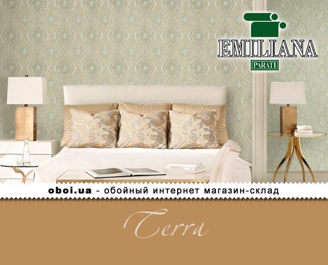 Виниловые обои на флизелиновой основе Emiliana Parati Terra