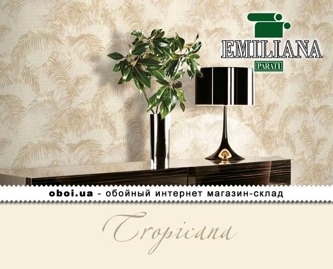 Вінілові шпалери на флізеліновій основі Emiliana Parati Tropicana