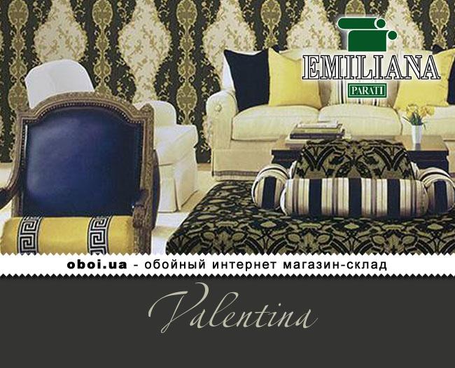 Виниловые обои на флизелиновой основе Emiliana Parati Valentina