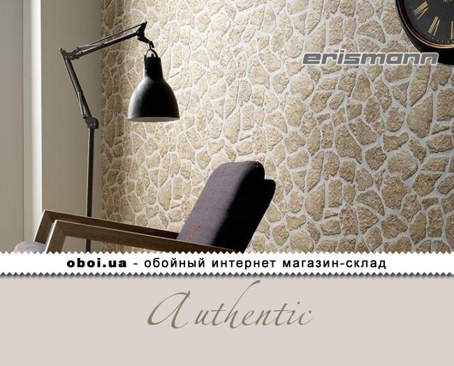 Вінілові шпалери на флізеліновій основі Erismann Authentic