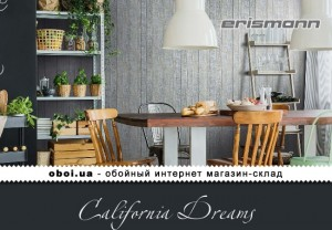 Шпалери Erismann California Dreams
